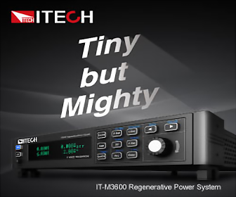 ITECH Tiny but Mighty TECH コ IT-3600 Regereratve Power System